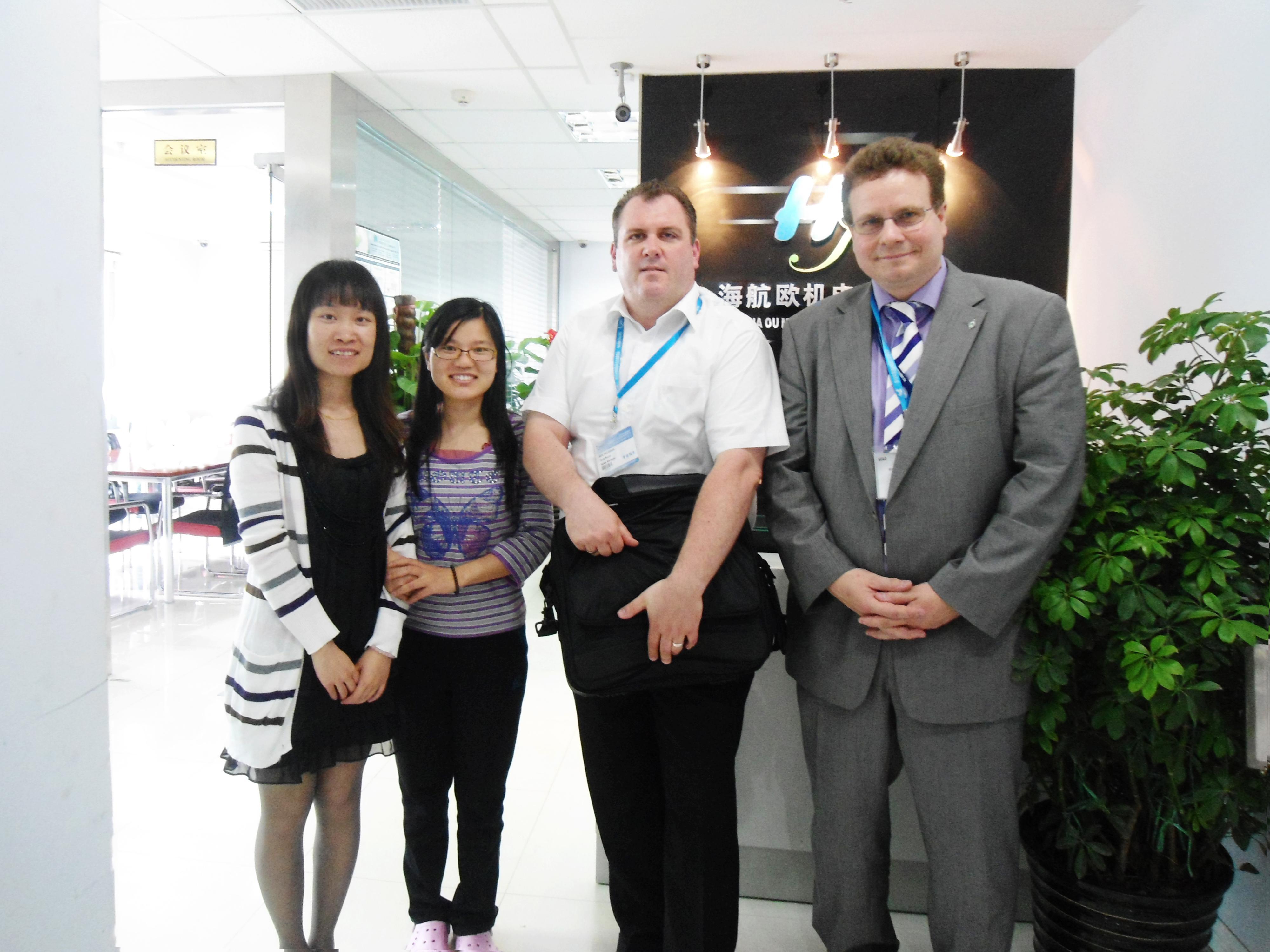 2012年5月,德国SOILTEC厂家莅临我司,双方就长期友好合作达成一致。